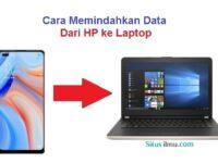 Cara Memindahkan Data HP